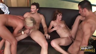 Wife Swap - Cougars Group Sexual congress Video