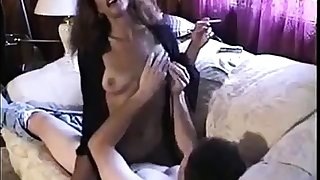 Hot Sexy Subfusc Smoking with an increment of Riding Cock
