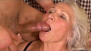 Big boobs granny gets humped plough maximum wits hung stud