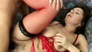 chubby stepmoms hairy ass destroyed by a big unearth