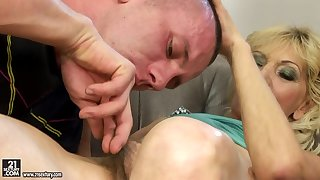 Hungarian Granny with Hairy Pussy Porn Motion picture